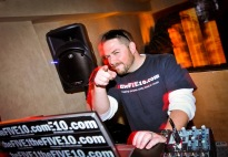 theFIVE10 show host JC playing DJ