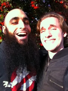 Clay Lancaster and Sky White (Foxy Shazam)