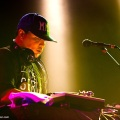 Mix Master Mike (Beastie Boys) in San Francisco. Photo by Clay Lancaster.