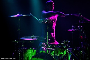 Travis Barker in San Francisco. Photo by Clay Lancaster.