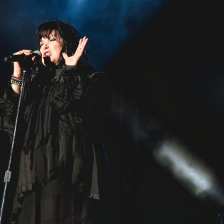 Ann Wilson perform with Heart at BottleRock Napa, 2014