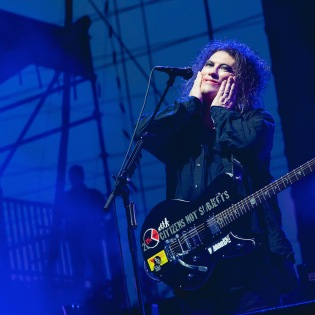 The Cure performs at BottleRock Napa, 2014