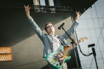 Weezer performs at BottleRock Napa 2014