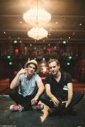 Matt Mahaffey (left) and Clay Lancaster (right). Photo by Keith Lancaster
