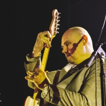 Billy Corgan and Smashing Pumpkins perform at The Warfield in san Francisco. Photo by Clay Lancaster.