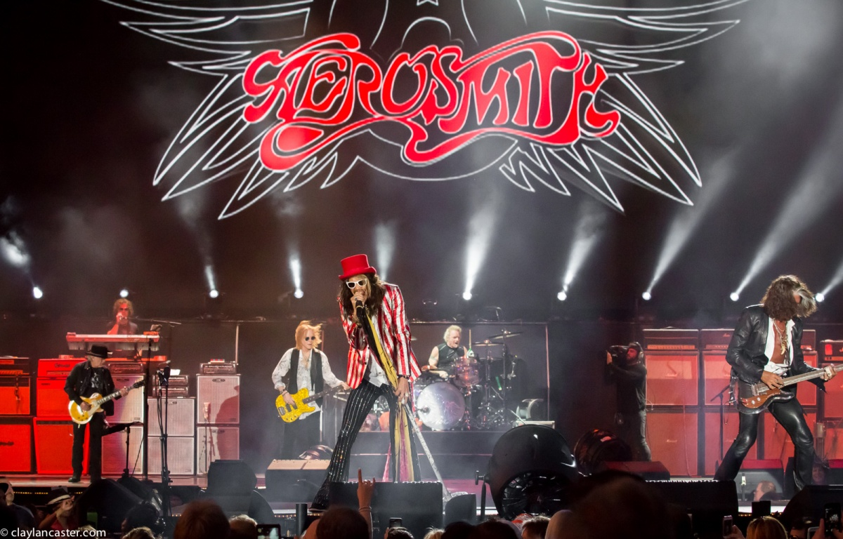 Aerosmith performs in Lake Tahoe