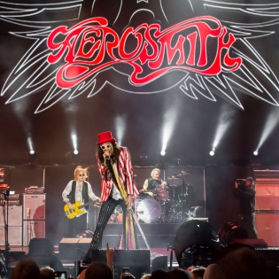 Aerosmith performs in Lake Tahoe