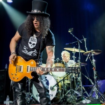 Kings of Chaos in San Francisco: Slash and Matt Sorum
