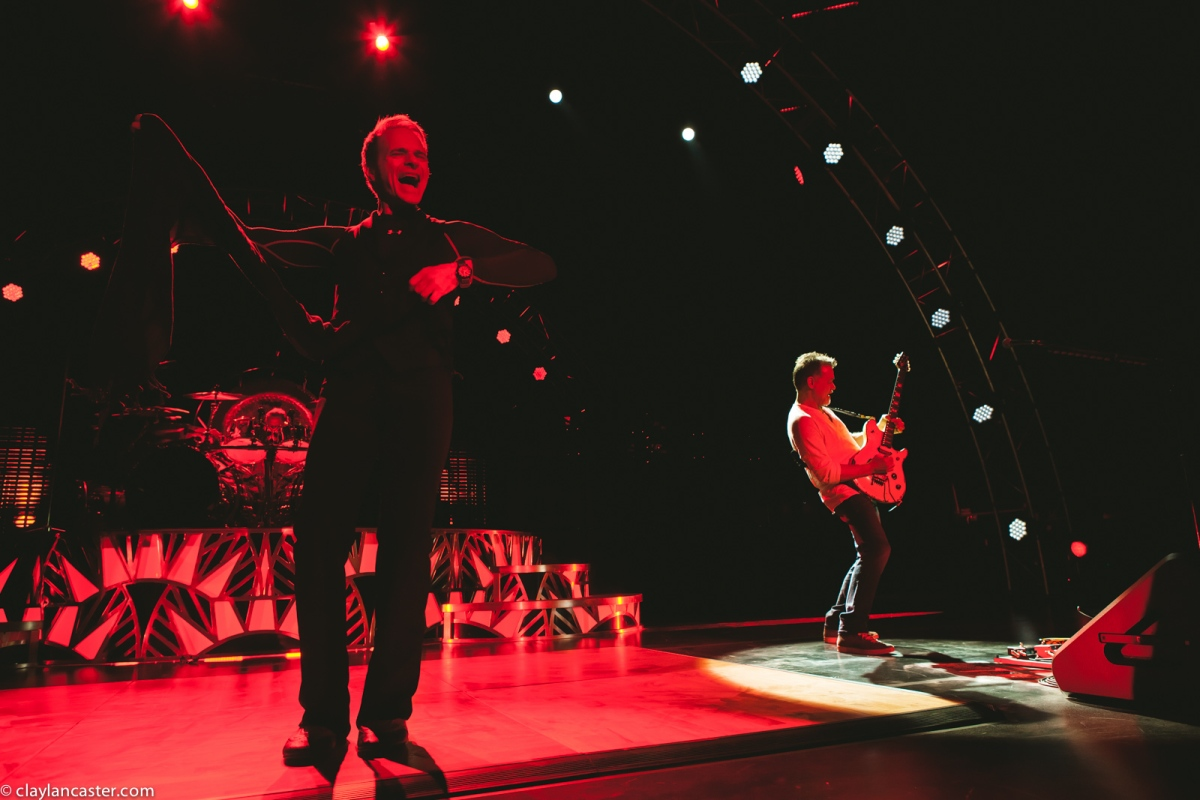 Van Halen performs at the Concord Pavilion, July 9th.