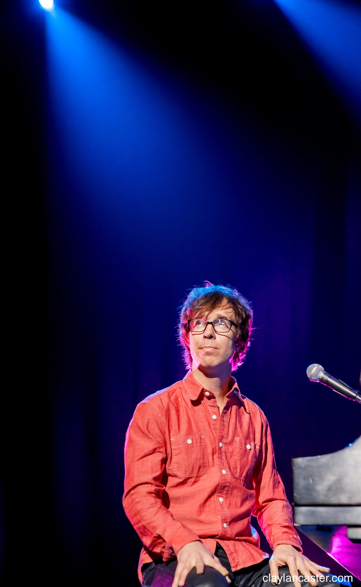 Ben Folds. Photo by Clay Lancaster (claylancaster.com)