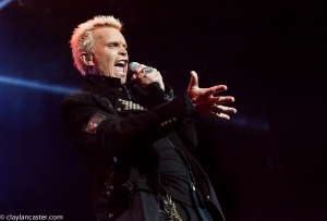 Billy Idol performs at the Grand Sierra in Reno, NV.