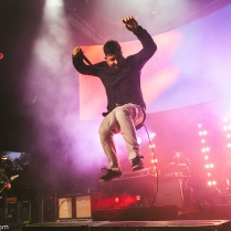 Chino Moreno performs with Deftones at Shoreline.