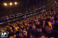 Crowd waits for Metallica to perform at CBS' The Night Before, AT&T Park, San Francisco. Photo by Clay Lancaster.