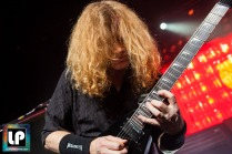 Megadeth performs sold out at The Warfield in San Francisco, CA. Photo by Clay Lancaster.