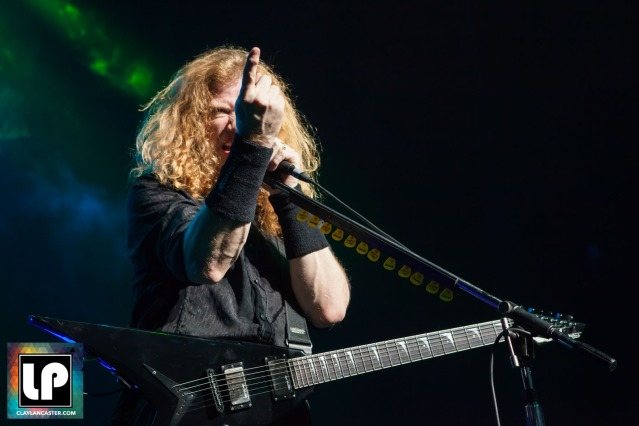Megadeth - The Warfield. San Francisco, CA.