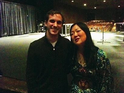 theFIVE10's Clay Lancaster with comedian Margaret Cho