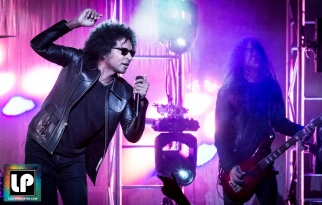 William Duvall and Mike Inez perform with Alice in Chains at The Masonic, San Francisco. Photo by Clay Lancaster.