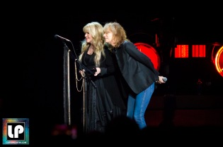 Stevie Nicks performs with Chrissie Hynde at SAP Center in San Jose.