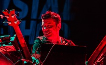 Scott Kirkland of the Crystal Method performs at SAP Center in San Jose. Photo by Clay Lancaster.