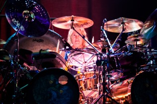 Danny Carey of Tool performs at SAP Center in San Jose. Photo by Clay Lancaster.