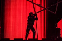 Maynard James Keenan of Tool performs at SAP Center in San Jose. Photo by Clay Lancaster.