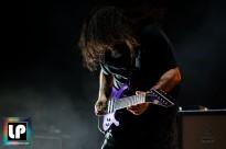 Stephen Carpenter performs with Deftones at Concord Pavilion