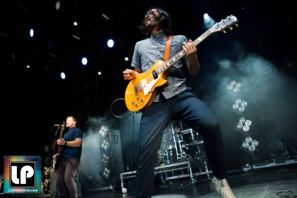 Teppei Teranishi performs with Thrice at Concord Pavilion