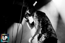 Mike Patton performs with Dead Cross in Berkeley, CA. Photo by Clay Lancaster.