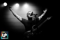Mike Crain performs with Dead Cross in Berkeley, CA. Photo by Clay Lancaster.
