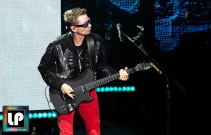 Matt Bellamy performs with Muse at Shoreline Amphitheater. Photo by Clay Lancaster.