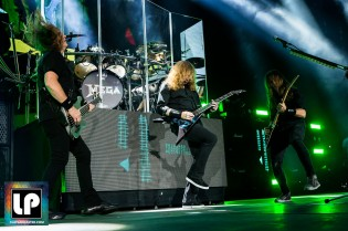 Megadeth at Oracle Arena. Photo by Clay Lancaster.