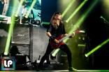 Kiko Loureiro performs with Megadeth at Oracle Arena. Photo by Clay Lancaster.