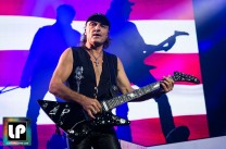 Matthias Jabs performs with Scorpions at Oracle Arena. Photo by Clay Lancaster.
