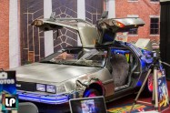 Back to the Future Delorean at Fan Expo Dallas
