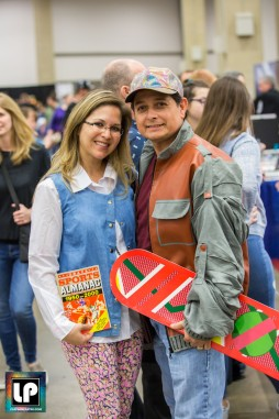 Marty and Jenniger pose at Fan Expo Dallas