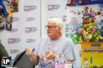 The voice of Super Mario, Charles Martinet, at Fan Expo Dallas