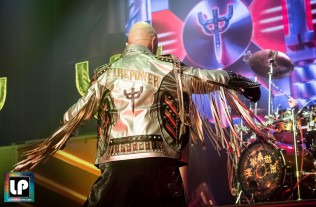 Rob Halford performs with Judas Priest in San Francisco. Photo: Clay Lancaster