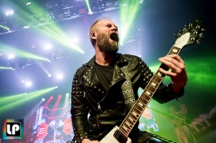 Andy Sneap performs with Judas Priest in San Francisco. Photo: Clay Lancaster