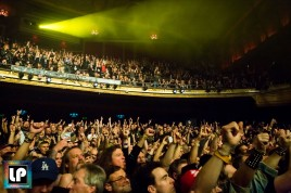 The Warfield crowd in San Francisco for Judas Priest