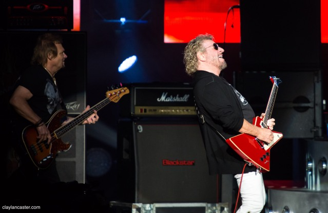 Sammy Hagar & The Circle - Concord Pavilion. Concord, CA.