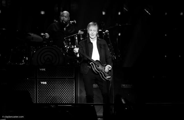 Paul McCartney - SAP Cemter. San Jose, CA.